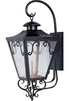 Maxim Lighting 39994CLOI Cordoba Forged Iron Traditional Outdoor Gas Lantern MX-39994-CL-OI $390