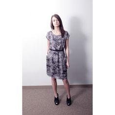 W Printed Dress #leftoftrend