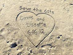 Cute idea for a destination or beach wedding  http://bit.ly/HwXyKS