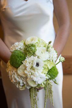 Vintage outdoor wedding. Bouquet amaranthus, green trick dianthus, black centered anemone, hydrangea, ranaculus, vibernum.