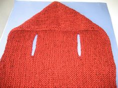 Inspiration :: A simple vest with a hood. . . . . ღTrish W ~ http://www.pinterest.com/trishw/ . . . . #crochet