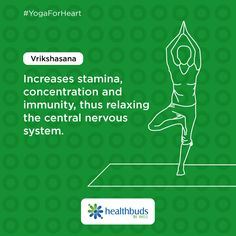 Strengthen your central nervous system and be ready to take on the world always. #YogaForHeart #WorldHeartDay