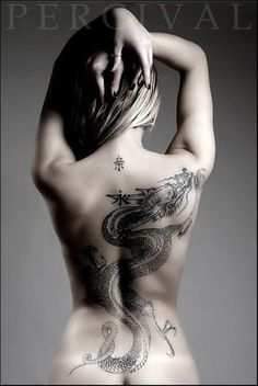 0769dffe8 Top 80 3D Dragon Tattoo Designs Ideas For Men | Goosetattoo Tattoos For  Women, Back