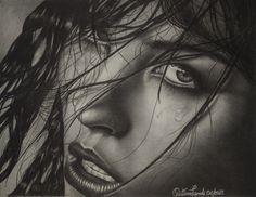 "Cristina Landi, ""Emozione"", 2013, grafite su carta, mm 206 x 268, Firenze. Cristina Landi, ""Emotion"", 2013, graphite on paper, 206 x 268 mm, Florence."