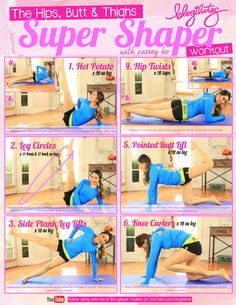 Hips Butt & Thighs Super Shaper Workout