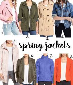 Spring Jackets