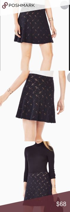 BCBG Brand New Lov Lace Skirt Brand new, with tag on BCBG Skirts Mini