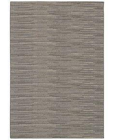 "Couristan Indoor/Outdoor Area Rug, Monaco 2471/2044 Larvotto Grey-Multi 5'10"" x 9'2"" - 6 x 9 Rugs - Rugs - Macy's"