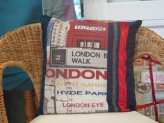 Kissen - Kissenbezug London - ein Designerstück von Naehsalon-Baden bei DaWanda
