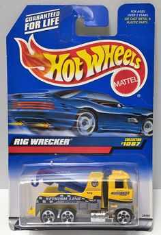 1998 Mattel Hot Wheels Die-Cast - Rig Wrecker This item is NOT in Mint Condition and is in no way being described as Mint or even Near Mint. Our toys have not always lead the perfect life, nor have th