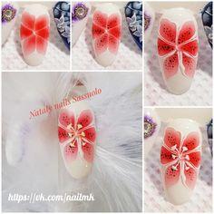 Маникюр пошагово Tulip Nails, Bloom, Nail Art, Mini, Tulips, French, Nail Arts, Nail Bling, Gel Nails