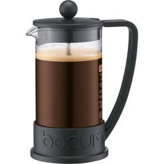 The Brazil French Press coffee maker, designed in the early 80's, was the first coffee maker and quickly became a symbol of what Bodum stands for. Attractive and functional design at an affordable pri