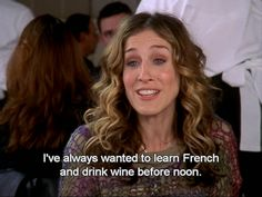 """When Carrie based part of her decision to move to Paris on this flawed logic: 