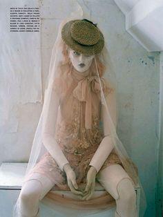 Tim Walkers Mechanical Dolls for Vogue Italia October 2011 Photo