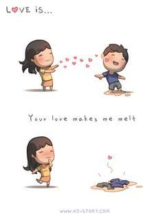 HJ Story:: Love makes me melt