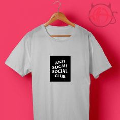 42de9a164c39 Cheap Custom Anti Social Social Club Block T Shirts Price    14.50 Check  out our brand new !!