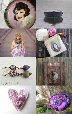 Evening in purple by Gioconda Pieracci on Etsy--Pinned with TreasuryPin.com