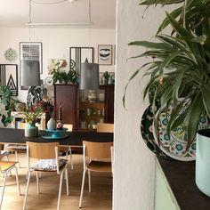 alt und neu ... macht es euch schön zuhause. #esszimmer #diningroom #wohnen #interior #staycation #stayhome