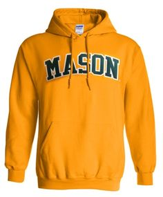 George Mason Youth Gold Fleece Hoodie Soccer