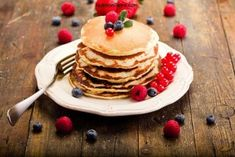 Yesterday we told you how much we love brunch. So in case you're cooking brunch at home today and craving something on the sweeter side, here's another recipe for you – Yogurt and Oatmeal Pancakes! These pancakes are a delicious treat and super simple to make! Give these puppies a whirl and let us know …