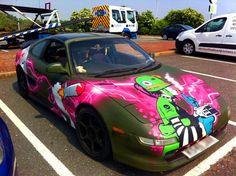 Vehicle Graffiti | Graffiti Kings
