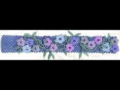 Ramblin' Roses Bracelet with Jill Wiseman   ~ Seed Bead Tutorials