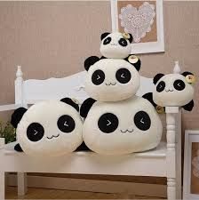 1 Piece New Teddy Bear Papa Cat Panda Plush Cute Bedroom Sofa Pillow Products Cute Panda Toy_Gifts_Ceremony & Favors_Buy High Quality Dresses from Dress Factory Pet Toys, Baby Toys, Kids Toys, Panda Pillow, Valentine Day Gifts, Valentines, Cheap Pillows, Felt Monster, Bolster Pillow