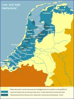 Netherlands Map, Countries Europe, Historical Maps, Delft, Rotterdam, Geology, Languages, Holland, Places To Visit