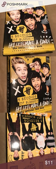 5 seconds of Summer book Great condition 5 Seconds Of Summer Other
