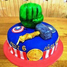 #Advenger #fondant #cake by Volován Productos  #instacake #Chile #puq #VolovanProductos #Cakes #Cakestagram