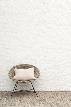 White Stucco Wall Hastily Hacked Texture Evokes Continuous Movement Energy Interior Walls