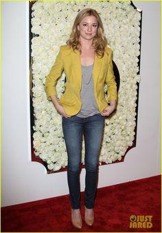 Vanity Fair - Emily VanCamp - love her outfit