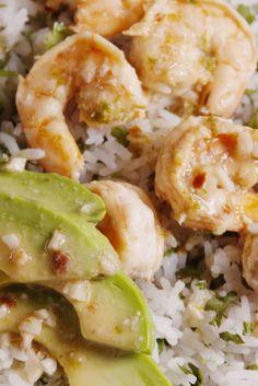 Cilantro-Lime Rice Bowls