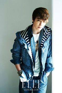 #Lee Dong-Hae (???) of Super Junior for Elle. #KPop, korea, korean fashion, kfashion, men's wear, men's fashion, asian fashion,