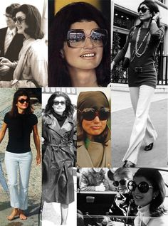 Jackie Kennedy Onassis: My FAV fashion icon of all time. I wish I had her grace and style!!!