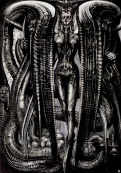 "HR Giger's ""Lilith""."