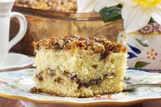 Back-to-Basics Coffee Cake Tea Cakes, Cupcake Cakes, Cupcakes, Apple Coffee Cakes, Classic Cake, Mini Chocolate Chips, Special Recipes, Vegetarian Chocolate, Cake Recipes