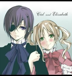 Kawaii :) One of the prettiest cielxlizzie drawings I've seen