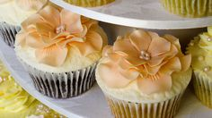Wedding Cupcakes! by mutedsinger