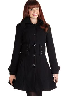 The Importance of Being Onyx Coat, #ModCloth