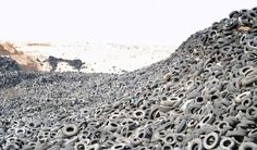 Enormous Tire Graveyard in Kuwait 2