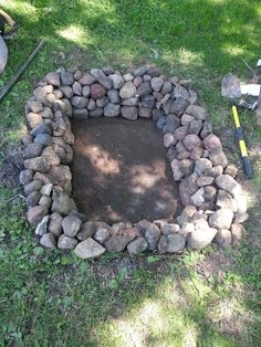 The bigger, better, newly improved backyard fire pit.