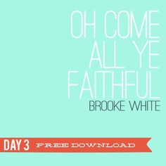 Oh Come all Ye Faithful Free Download