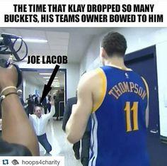 HAHA made the game winning basket Credit: Golden State Warriors Memes - http ...