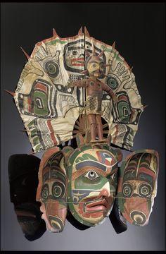 Transformation Mask Representing the Sun    Bob Harris, Kwakwaka'wakw, Canada (British Columbia)    The National Museum of the American Indian