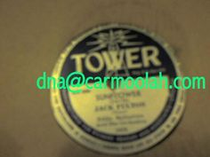 """jack fulton, jr eddie ballantine and his orchestra """"#Sunflower"""" """"Tell Me The #Truth tower records manufactured for richard bradley and associates chicago vinyl records music for sale NM Near Mint 78 rpm record"""