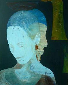 Essam Marouf http://essammarouf.nl/paintings.html