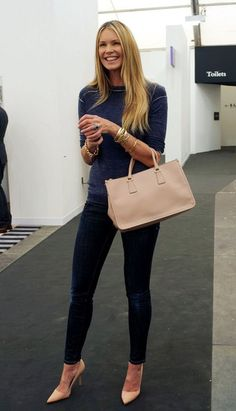 Elle MacPherson Photos  - Stefani at the Frieze Art Fair - Zimbio