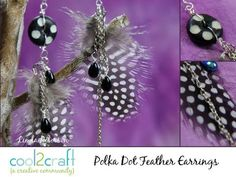 ▶ How to Make Feather Earrings by Linda Peterson - YouTube