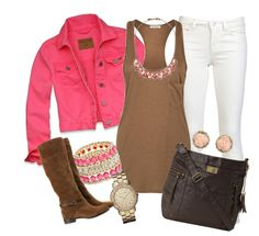 """""""pink"""" by sandreamarie on Polyvore"""
